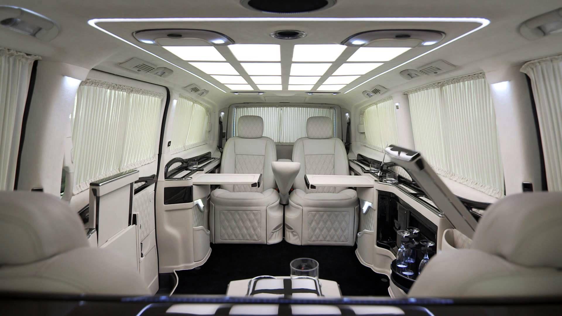 Klassen Car Design Technology Viano Vip Limousin Business