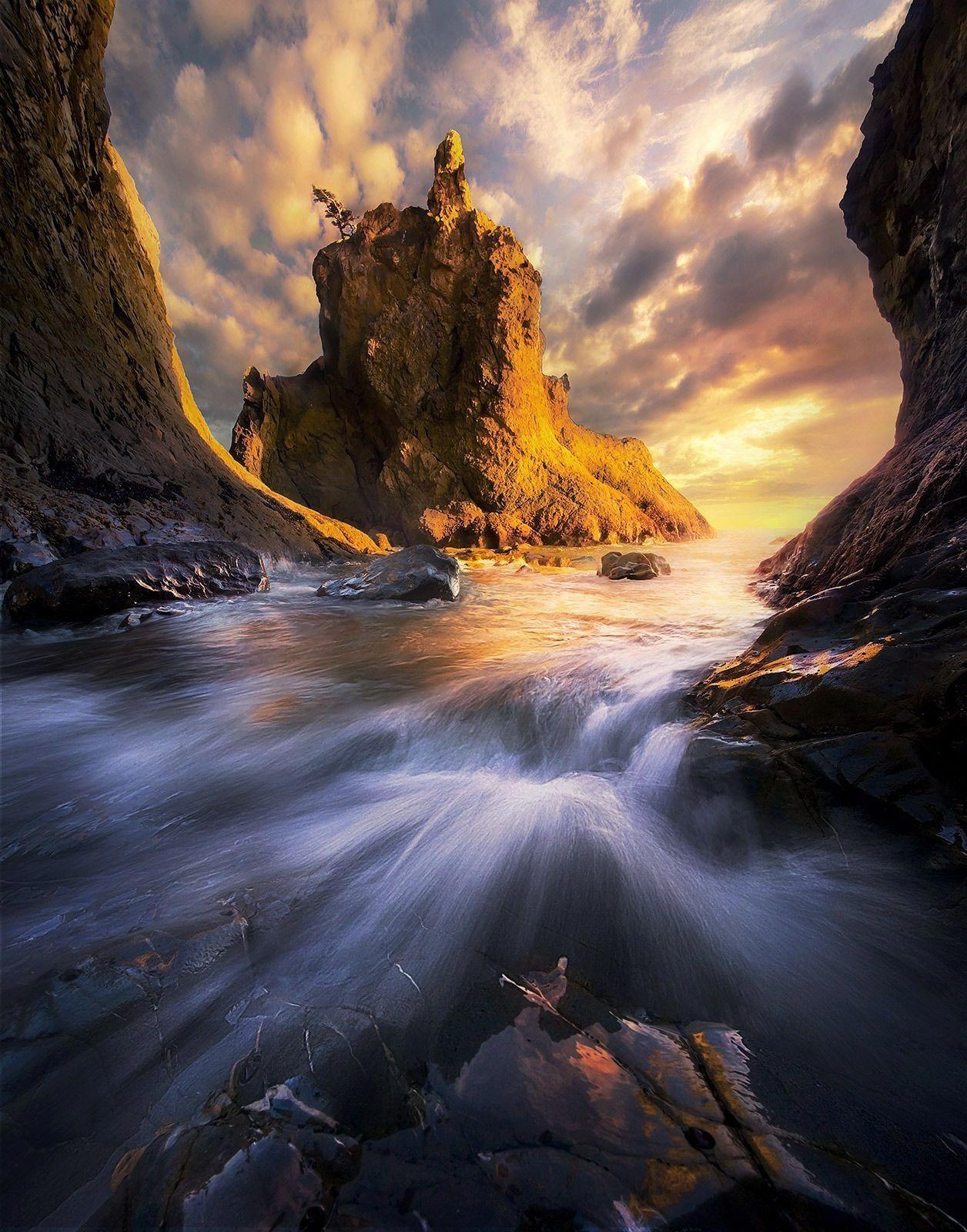 Sunset Tide photo | 100 AMAZING LANDSCAPES | Beautiful ...