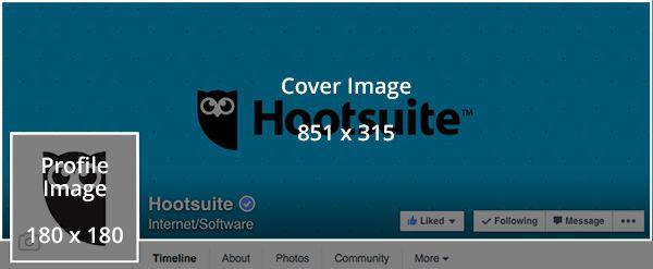 Social media templates - Facebook profile photo template Social