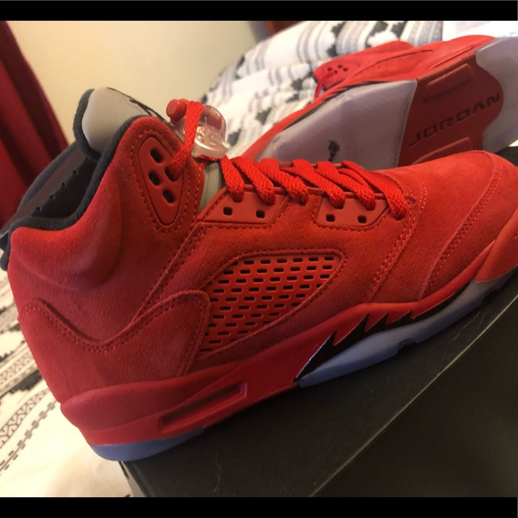 Nike Air Jordan 5 Retro University Red Black