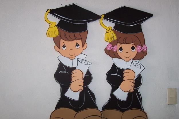 Como hacer recuerdos para graduación de preescolar en foami - Imagui