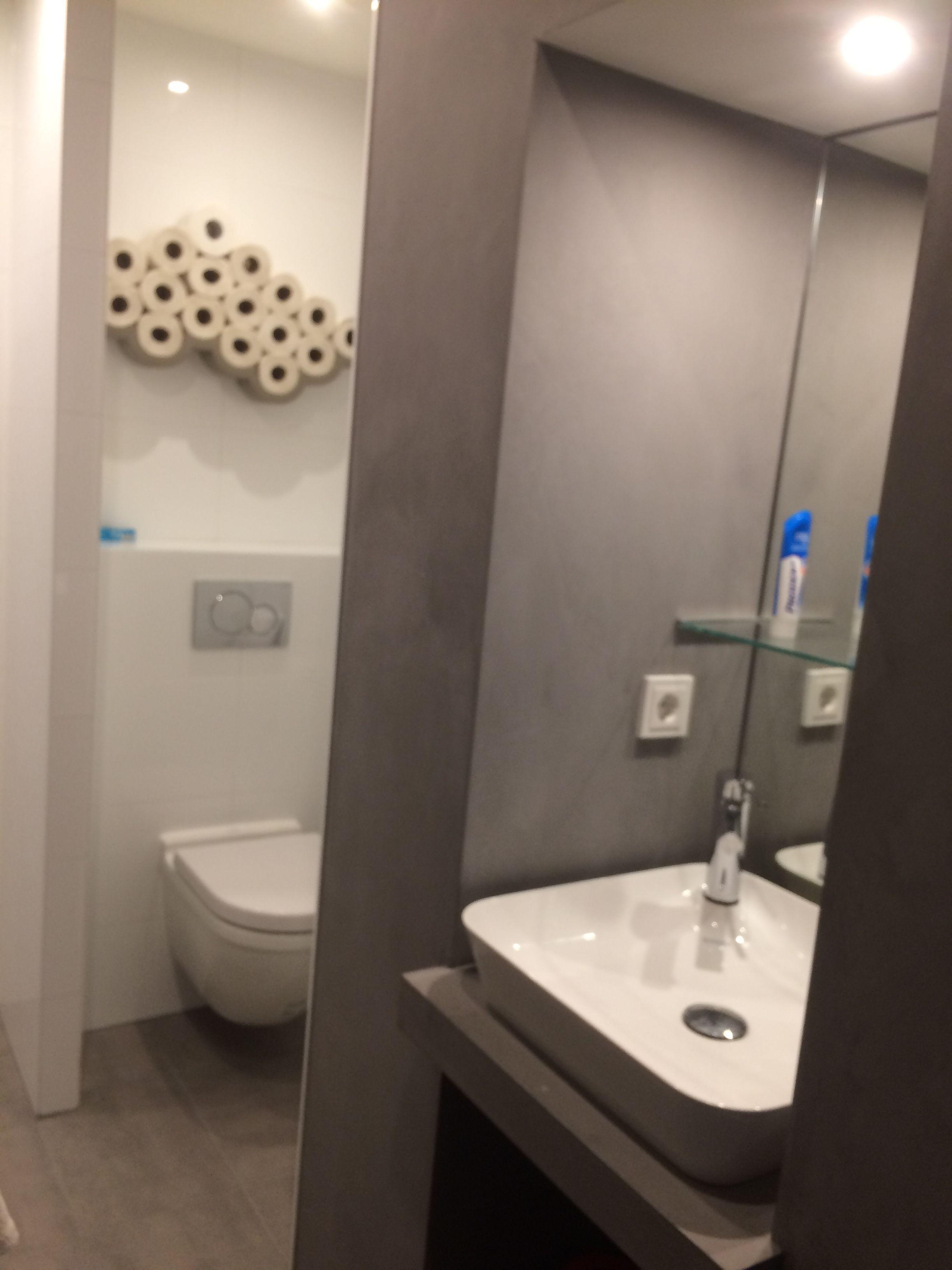 5 m2 (douche-toilet-wastafel-wasdroger - Kleine badkamer | Pinterest ...