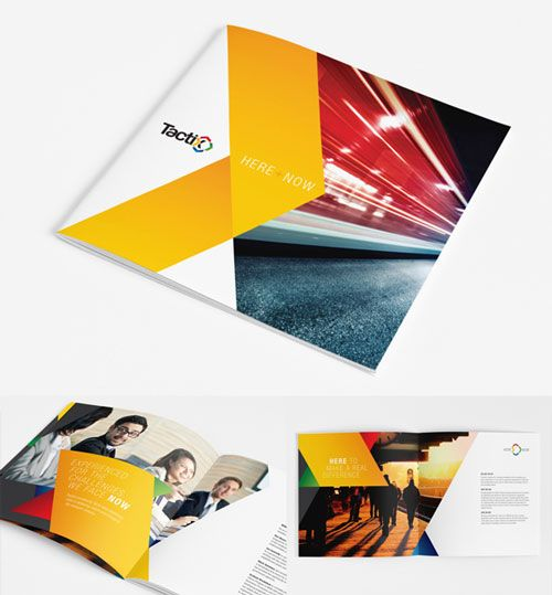20 beautiful and creative brochure designs for inspiration for Interesting brochure designs