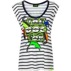Vr46 Street Art Damen T-Shirt Blau L Vr46