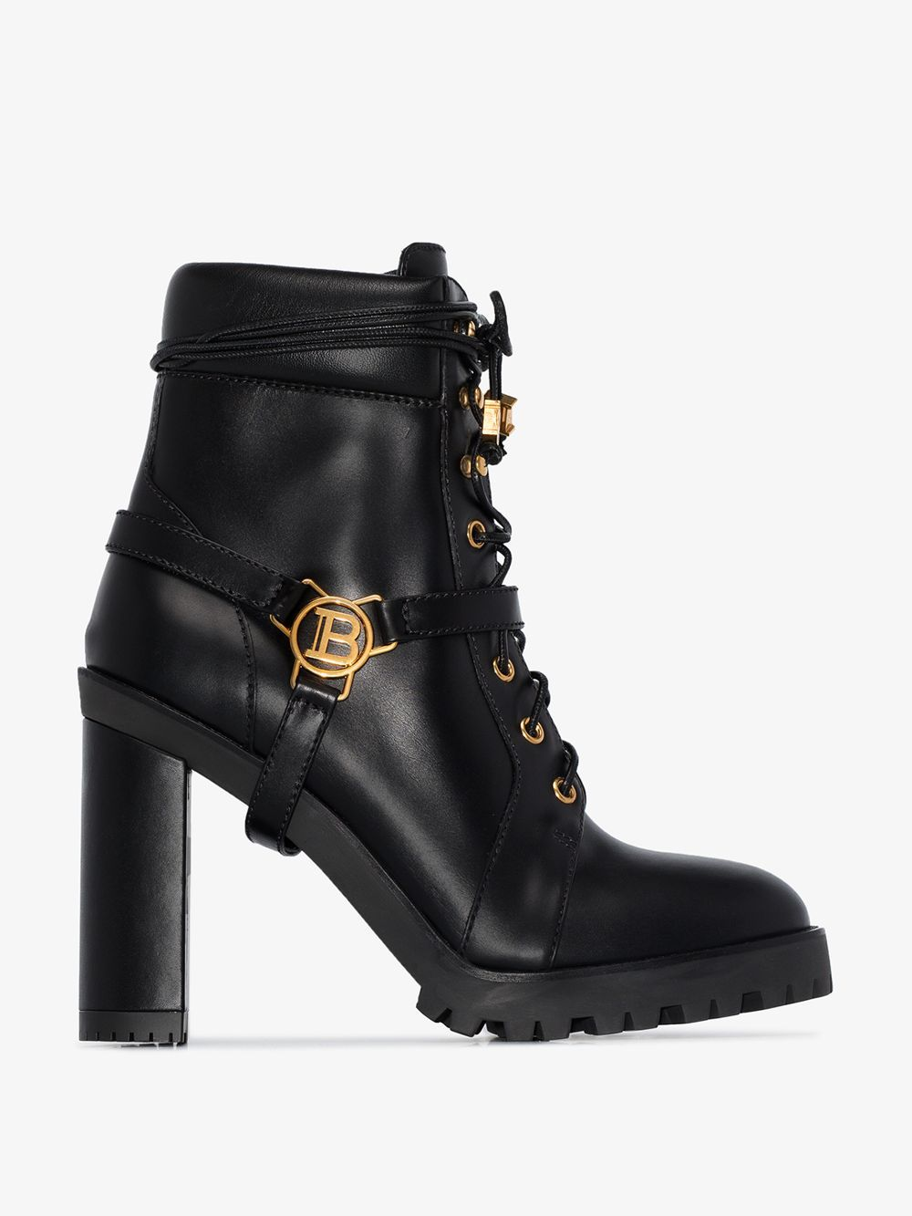 Balmain boots, Boots, Brown ankle boots