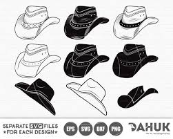 Cowboy Hat Vector Black And White Google Search Black And White Google Vector Black And White Hat Vector