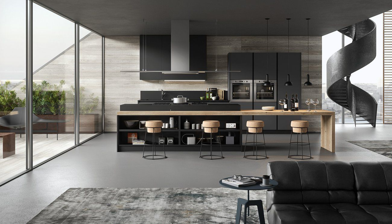 Gicinque la cucina moderna per ogni ambiente. Vivere l\'ambiente ...