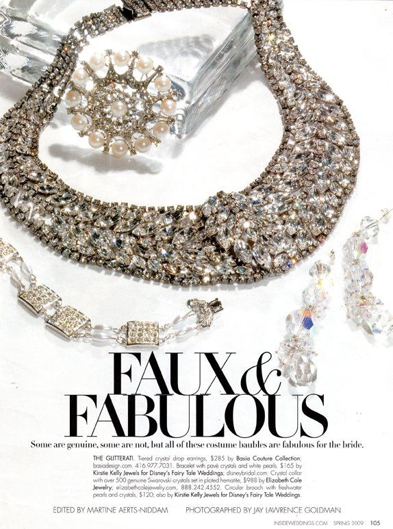 Jewelry editorial 2009