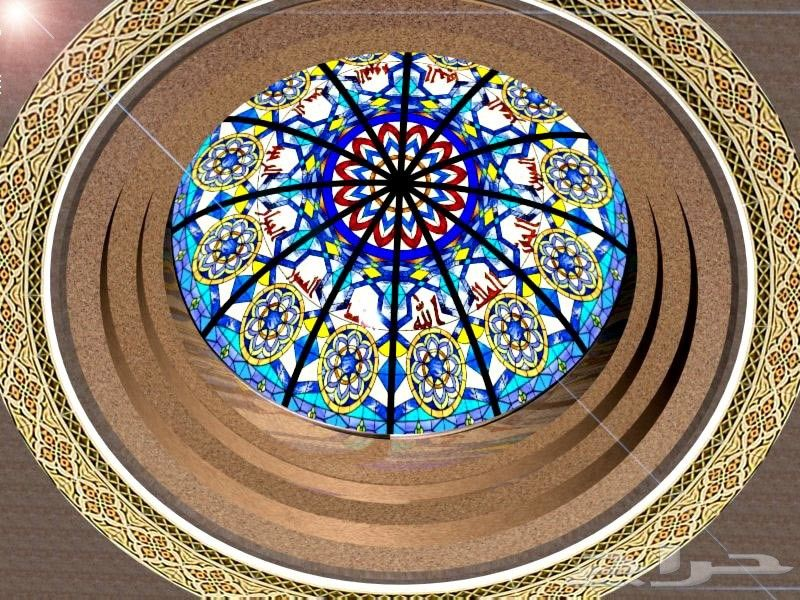 قبب سماوية زجاج معشق زجاج ملون شورات حمام شبابيك الالمنيوم Glass Painting Designs Glass Painting Glass