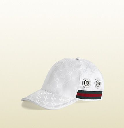 282c8fcebb131 Gucci GG nylon baseball hat http   www.shopstyle.com action
