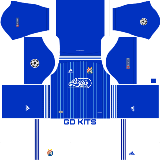 Kits Dinamo Zagreb Uefa Champions League 2019 2020 Dls Fts 15 League Uefa Champions League Soccer Kits