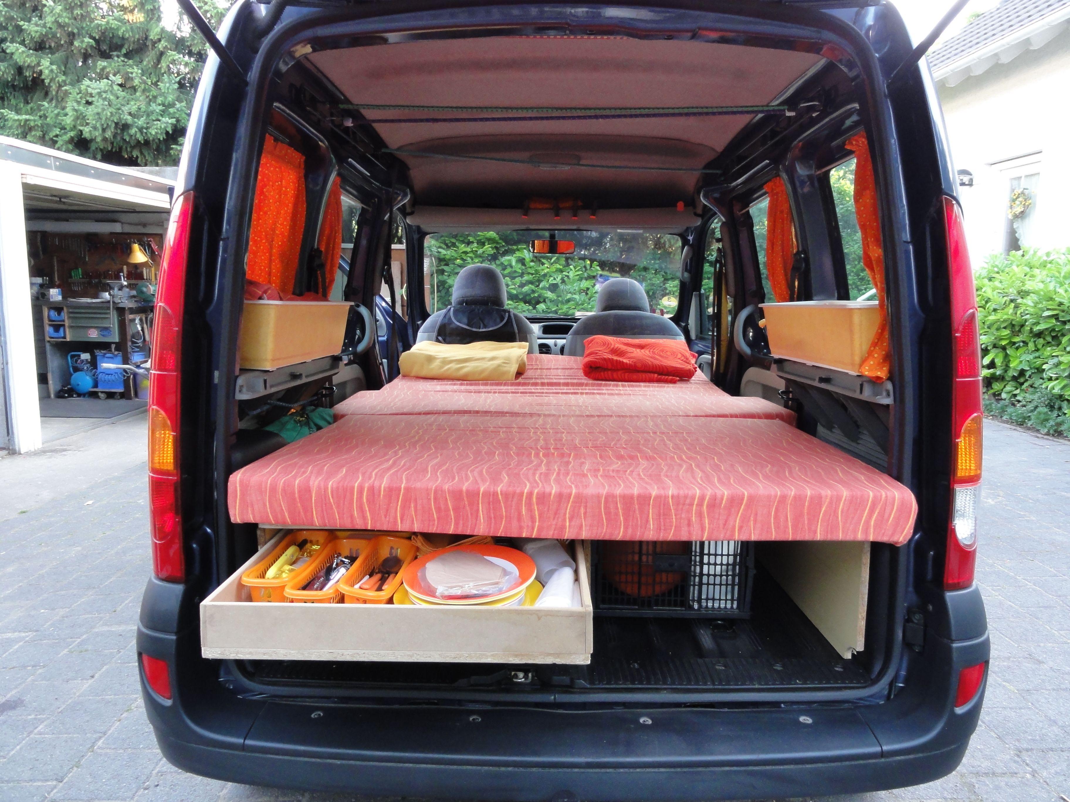 renault kangoo interior vans pinterest projekte and. Black Bedroom Furniture Sets. Home Design Ideas