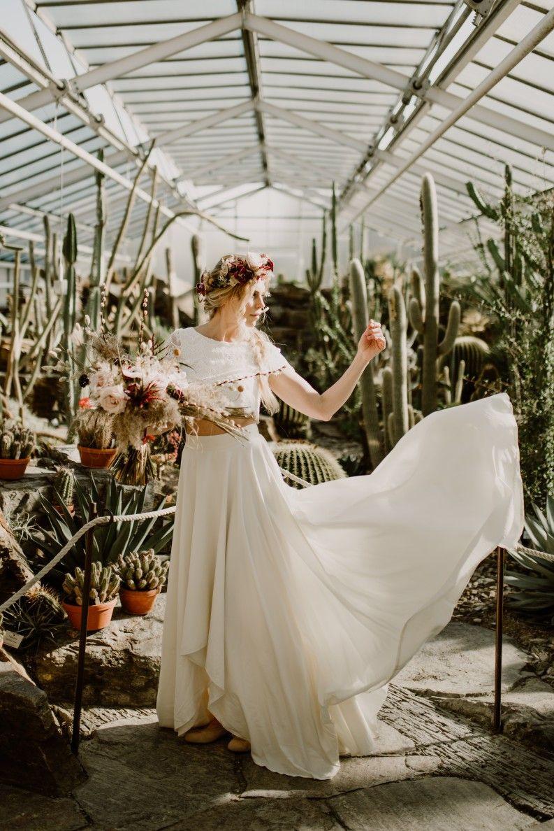 Labude Köln - Boho Hochzeit im Botanischen Garten mit ...