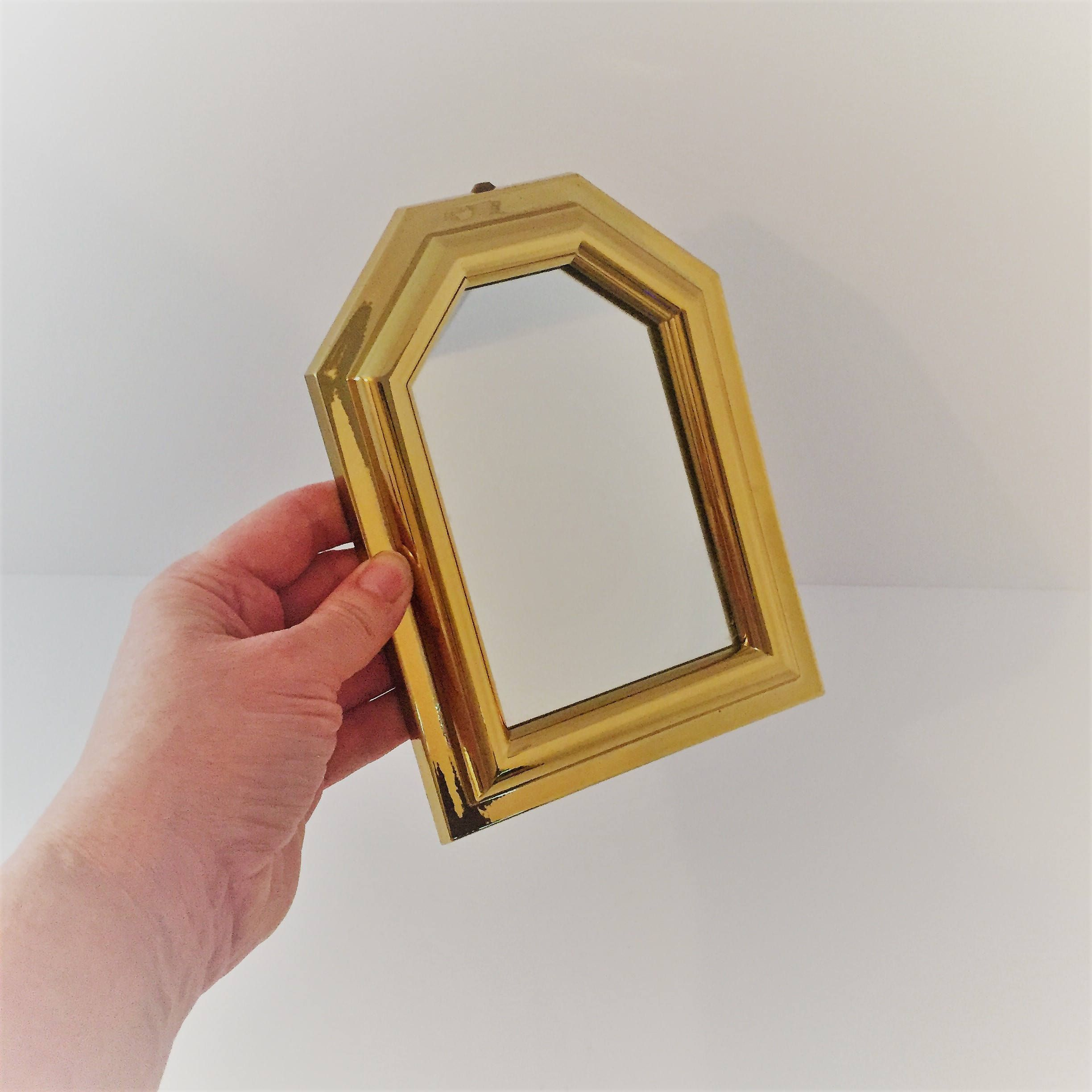 Vintage Gold Mirror Decorative Gold Wall Mirror Lightweight - Decorative gold mirrors