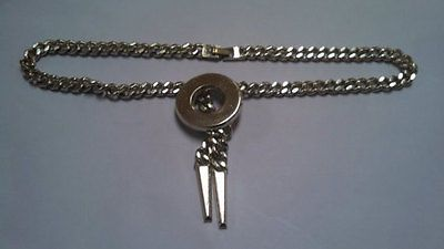 Monet Costume Silver Tone Chain Necklace