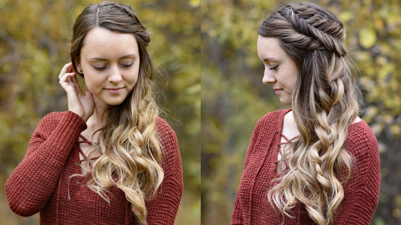 Pin by trisha yeager on hair attempts pinterest fishtail updo