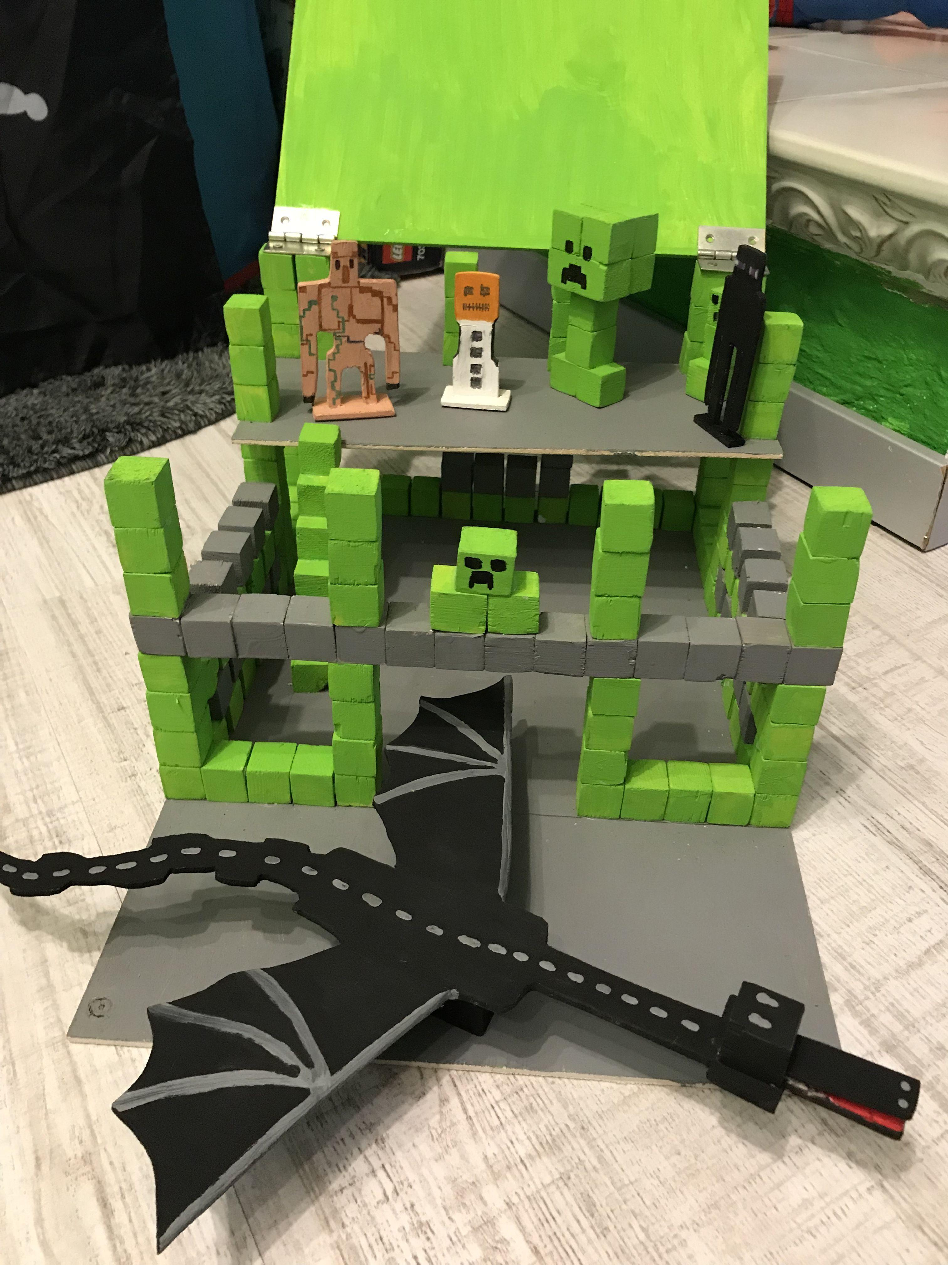 Minecraft Holz Basteln Minecraft Ideen Pinterest - Minecraft modernes haus aus holz