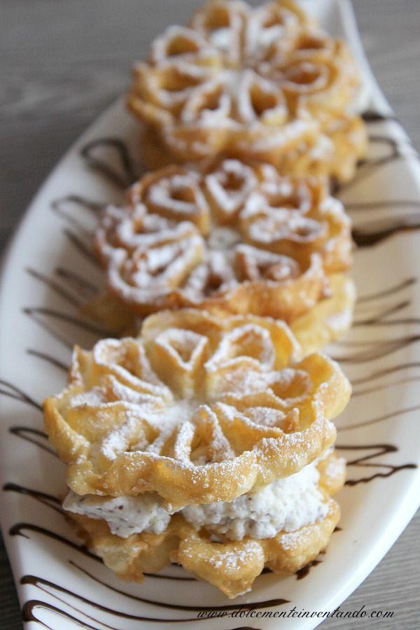 Chi di voi conosce il bacio pantesco? Trattasi di un dolce tipico dell'isola di Pantelleria, due cialde croccanti fritte che racchiudono una morbida crema alla ricotta con scaglie di cioccolato... Par