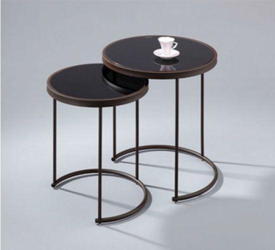 2 Tlg Satztisch Beistelltisch Tisch Beistelltische Couchtisch