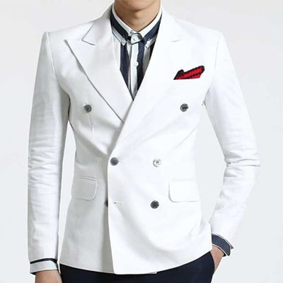 men s wedding suits uk white double breasted linen blazers casual ...