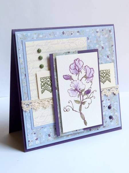 F4A26, FLLC, Sweet peas and lace...