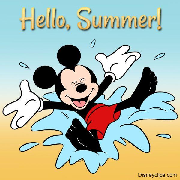 Hello, Summer!   Walt disney characters, Disney cuties, Disney (600 x 600 Pixel)