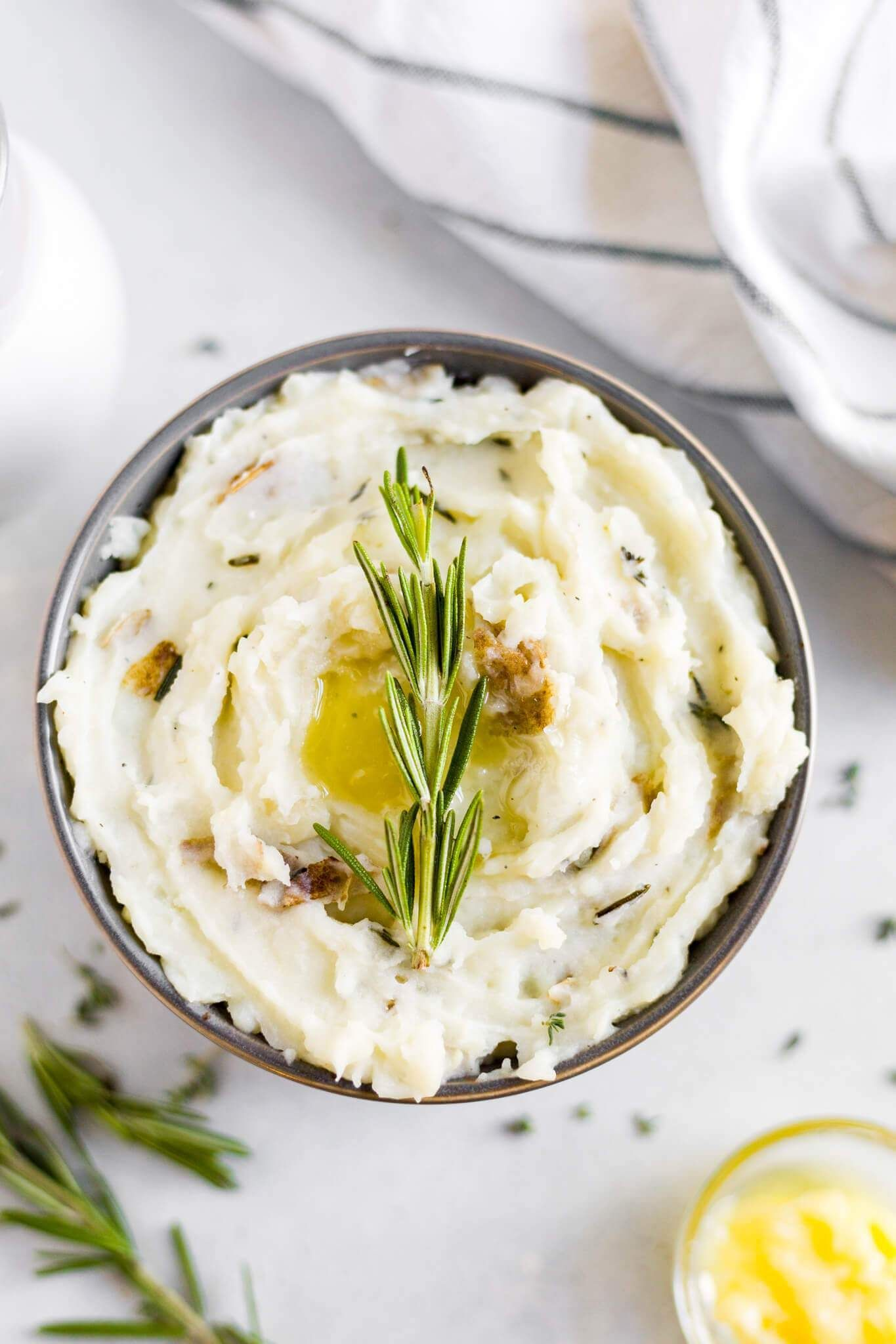 Best Dairy Free Mashed Potatoes #russetpotatorecipes