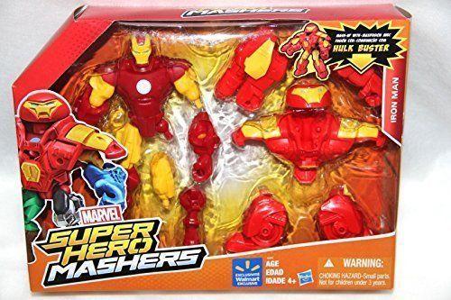 Hobgoblin 6 inch Action Figure Mash Up Super Hero Mashers Marvel Boys Age 4+