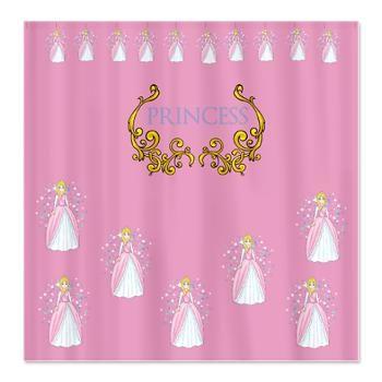 Pretty Princess Shower Curtain Custom Shower Curtains