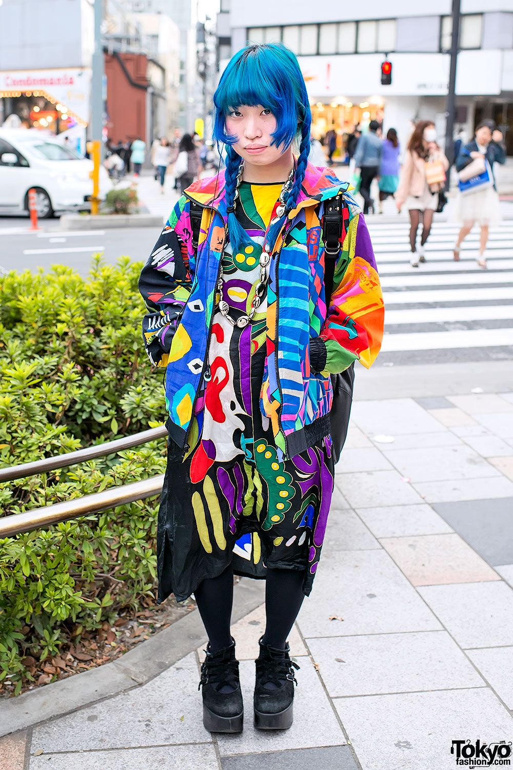 Colorful Fashion & Patterns in Harajuku | Japanese Street ...