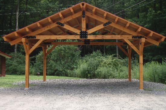 Backyard Pavilion Ideas covered outdoor pavilion Backyard Bars Diy In A Pavillion Bing Images