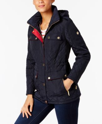 48f91fc8ab342 MICHAEL Michael Kors Petite Quilted Coat. MICHAEL KORS MICHAEL Michael Kors  Plus Size Quilted Hooded Jacket.  michaelkors  cloth