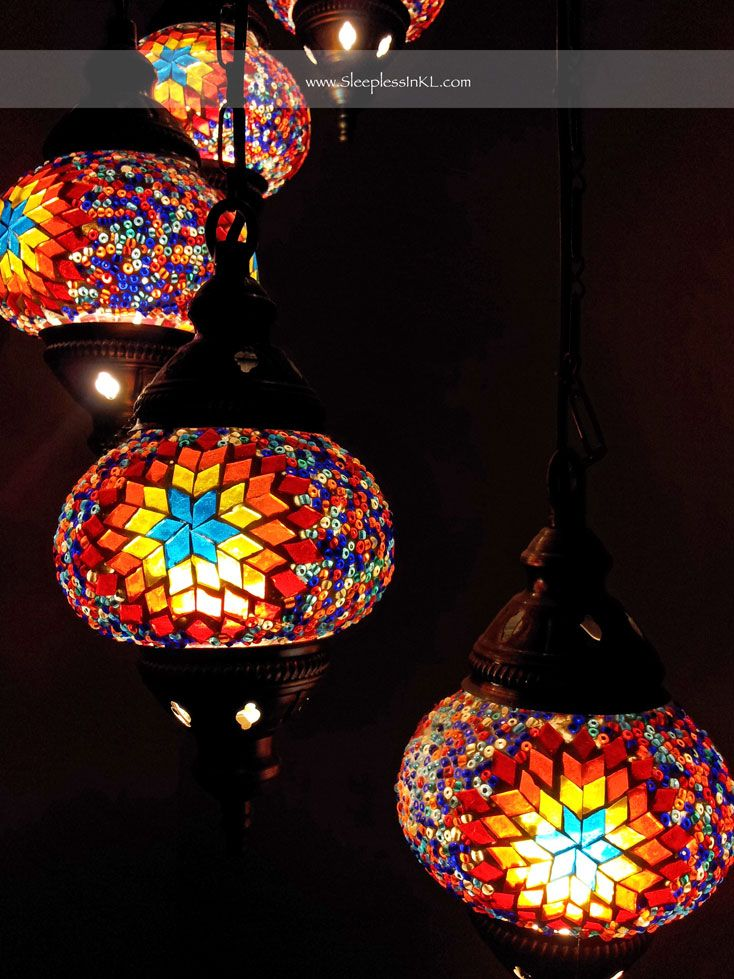 Turkish_lamp2 (734×979) · Stained Glass Lamp ShadesTurkish ...