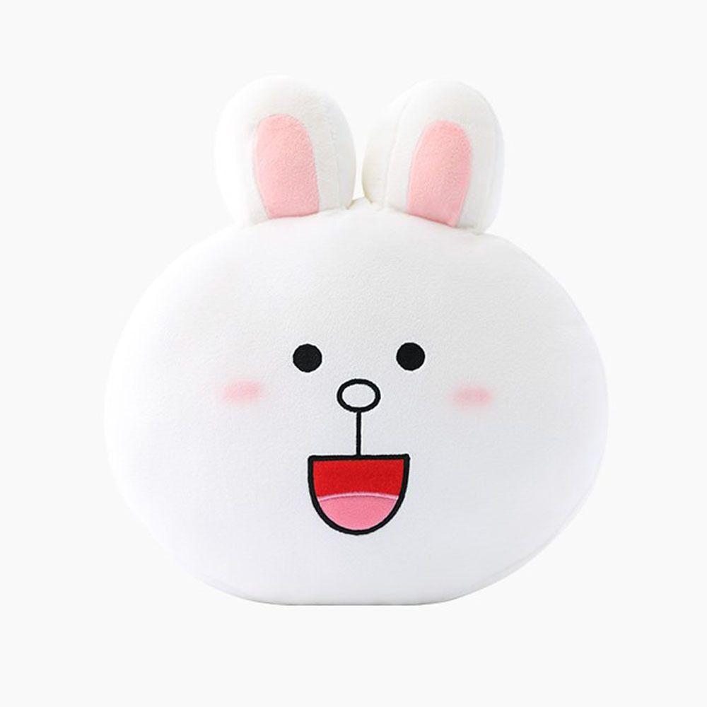 bb78de52b NEW Genuine LINE Friends Character Rabbit Cony Face Cushion Pillow 30cm  12in #LineFriends