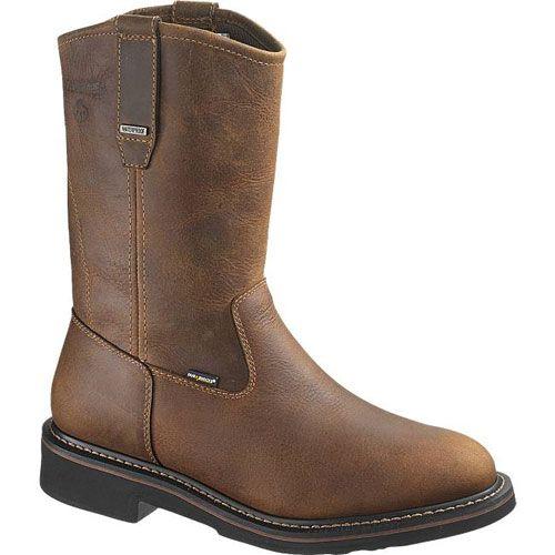 7c17b06cf67 W10084 Wolverine Men's WP EH Brek Safety Boots - Brown | Wolverine ...