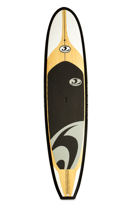 California Board Company 11 Bamboo Veneer Epoxy Fiberglass Stand Up Paddleboard Standup Paddle Paddle Boarding Stand Up