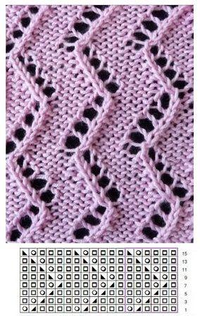 Lace knitting | ... mitja. tècniques i puntd | Pinterest ...