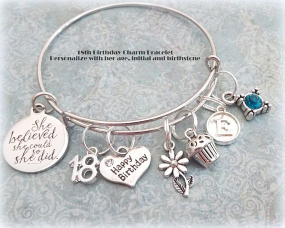 18th Birthday Gift For Daughter Happy Charm 21st Gifts 14th