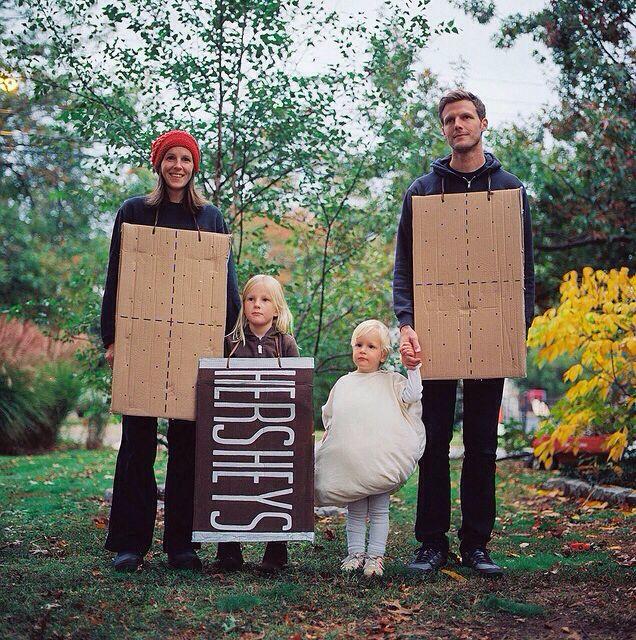 Smores Family Costume