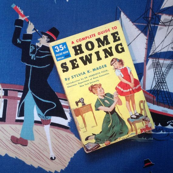 Cute Home Sewing Book 1952 by drcarrot on Etsy