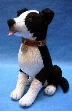 Вязаные собаки и кошки Alan Dart | Шаблоны животных ...