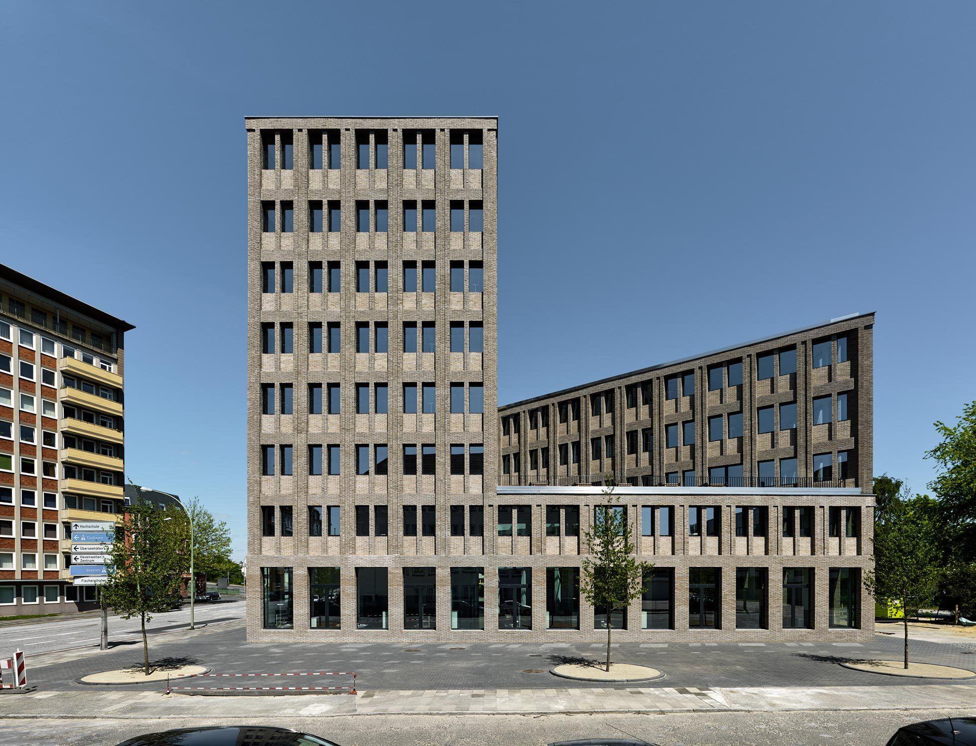 Tr ger backstein ber max dudlers aok neubau in bremerhaven bremerhaven neubau und architektur - Architektur bremerhaven ...
