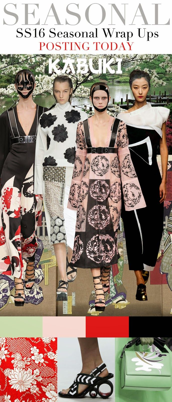 FASHION VIGNETTE: Trends. seasonal wraps are focused to be ...