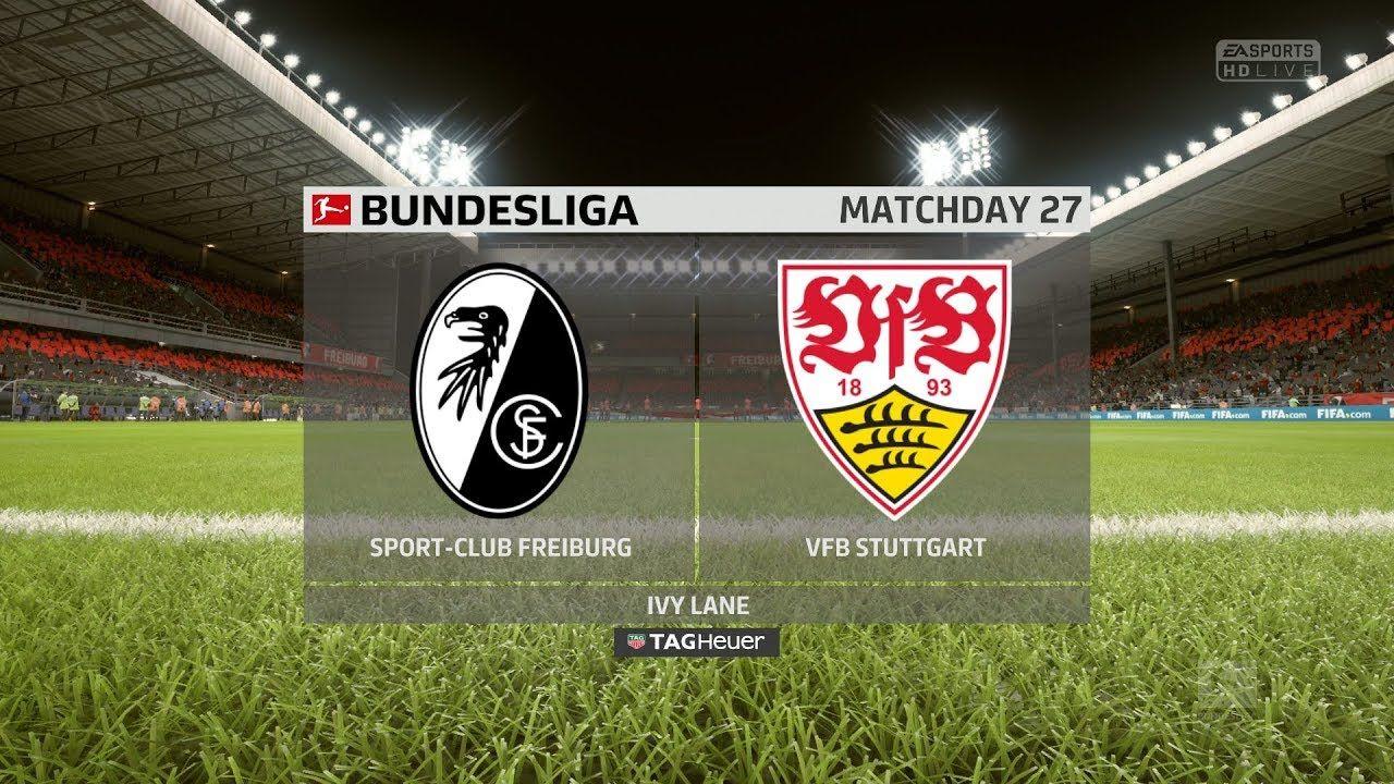 Sc Freiburg Vs Vfb Stuttgart Bundesliga 2017 18 Fifa Ps4