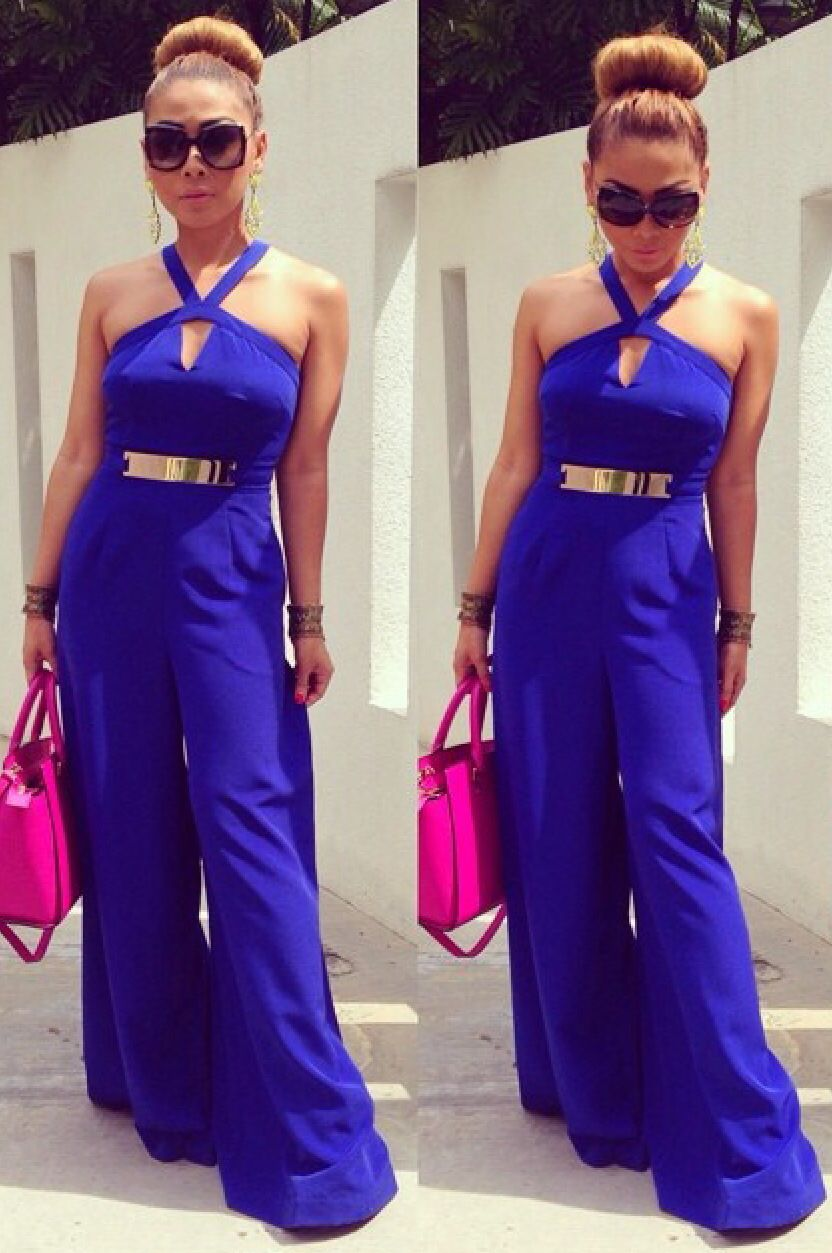 7a90fff9f0da 💥Blue Jumpsuit Ideas👌 Like 4⃣ More 👍  TipIt