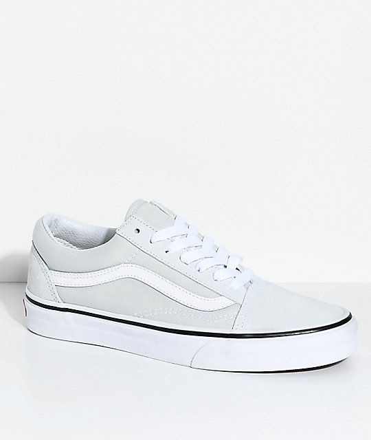 5a0ecedf Vans Old Skool Ice Flow & True White Skate Shoes in 2019 | Clothes ...