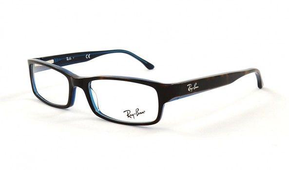 ray ban brille grau matt
