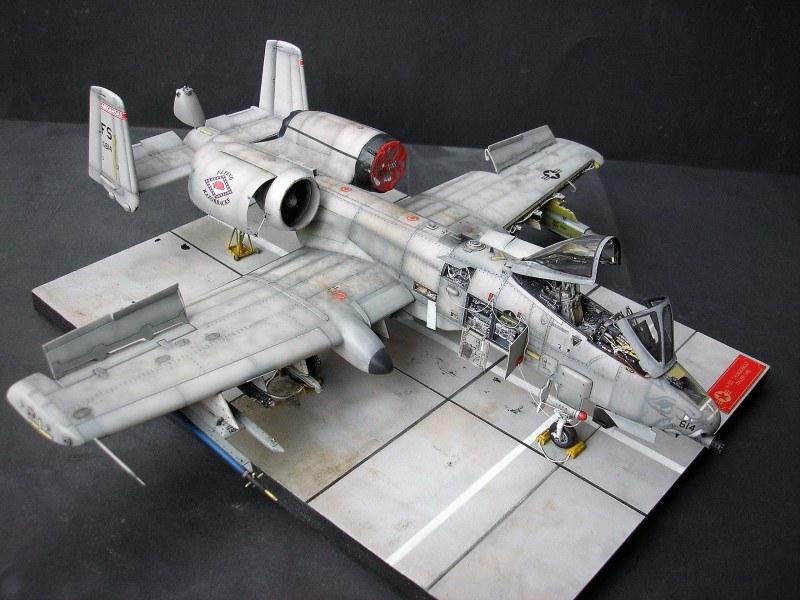 A 10c Thunderbolt Ii Italeri 1 48 Von Andreas Greim Model Airplanes Aircraft Aircraft Design