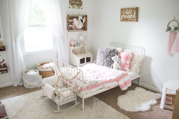 Image result for ikea minnen bed | Ikea toddler room, Ikea