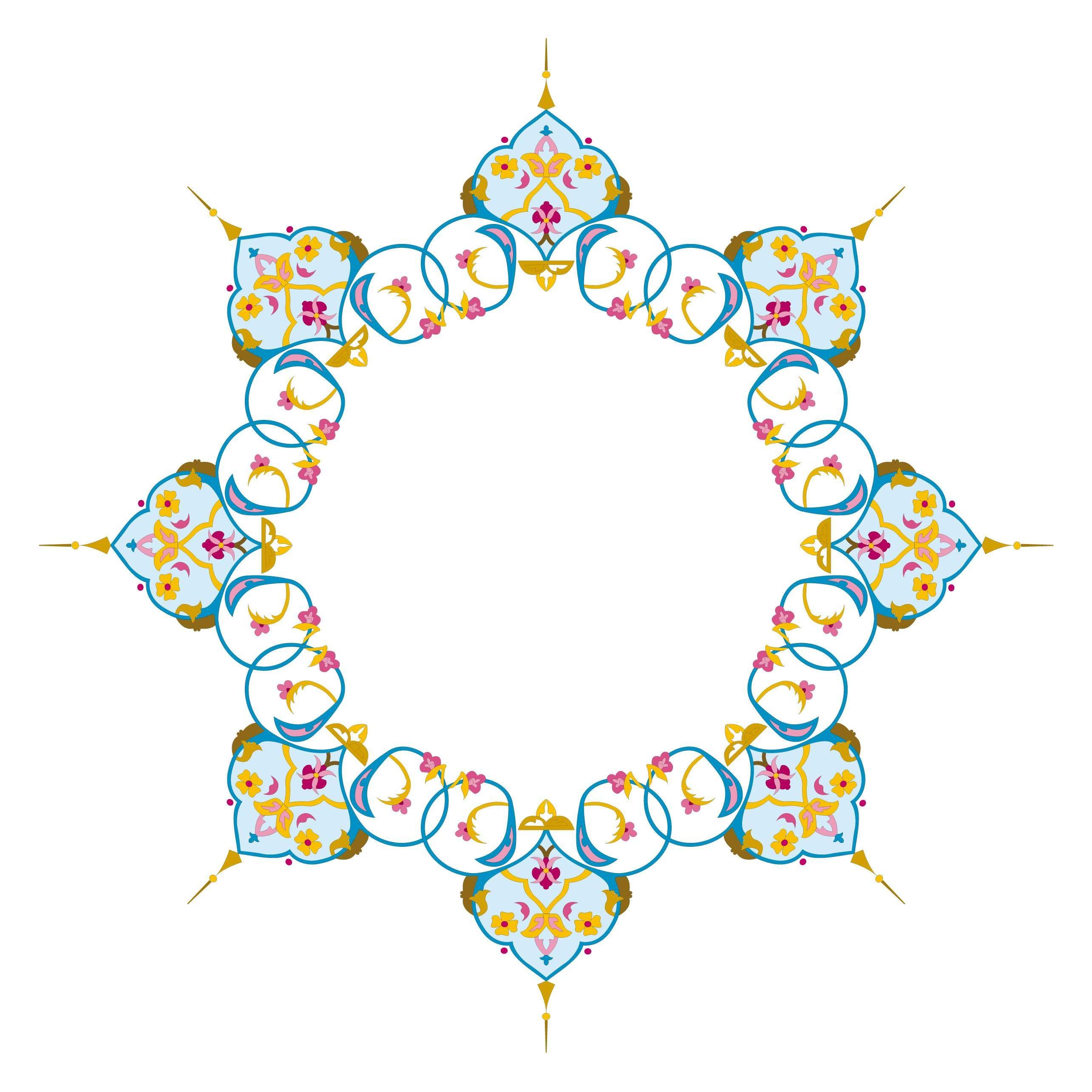 زخارف دائرية رائعة Abstract Symbols Peace Symbol